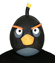 Angry Birds Black Bird Latex Mask Adult