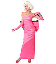 Pink Diamond Marilyn Monroe Adult Costume