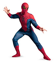 The Amazing Spider-Man Movie Deluxe Plus Adult Costume