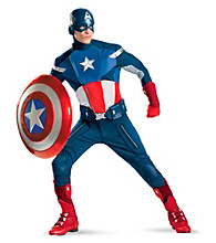 The Avengers Captain America Theatrical Adult Costume