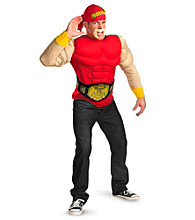 TNA Impact Wrestling Hulk Hogan Muscle Adult Costume