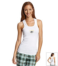 College Concepts Green Bay Packers Tank Top - White
