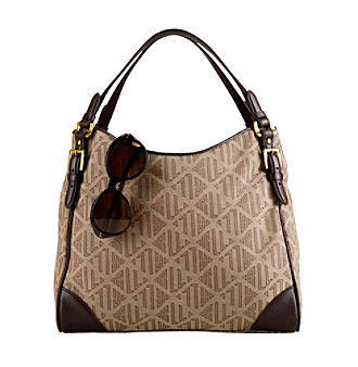 Lauren Ralph Lauren Four Poster Shopper - Khaki Brown Chestnut