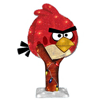 Kurt S. Adler Angry Birds™ 3D Tinsel Outdoor Decorations