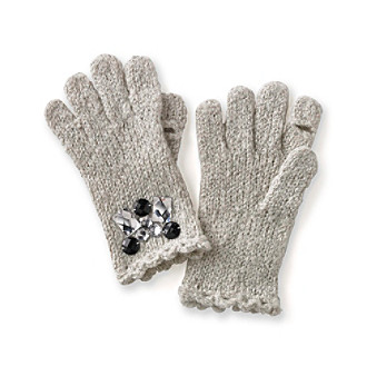 Betsey Johnson® Ice Princess Texting Gloves