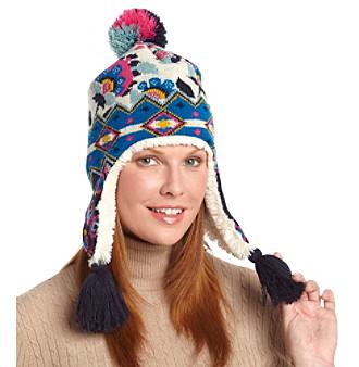 MUK LUKS® Forever Boho Fur Lined Earflap Hat