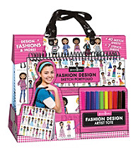 Fashion Angels® Fashion Design Artist Tote with Portfolio