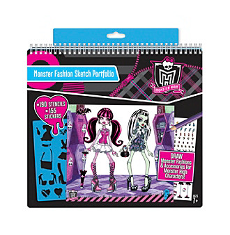 Monster High™ Monster Fashion Sketch Portfolio