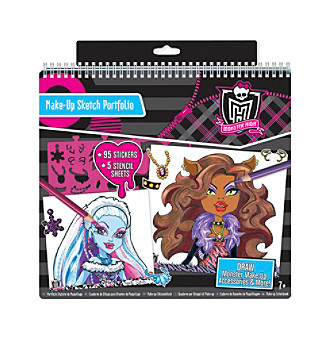 Monster High™ Make-Up Sketch Portfolio