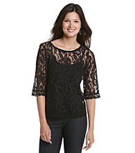 Fever™ Lace Top