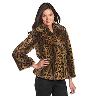 Jones New York® Faux Fur Chubby Jacket