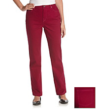 Gloria Vanderbilt® Amanda Fashion Colored Denim Jeans