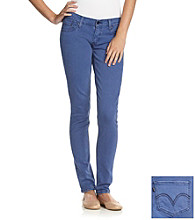 Levi's® Juniors' 524 Bright Blue Skinny Jeans