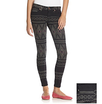 Levi's® Juniors' Allover Print Jean Leggings