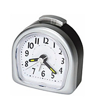 Lewis N. Clark® Lite Touch™ Analog Travel Alarm Clock
