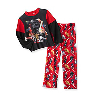 Star Wars® Boys' 4-10 Red and Black Printed 2-pc. Pajama Set