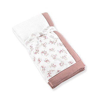 Little Me® Baby Girls' Rose Manor Stroller Blanket