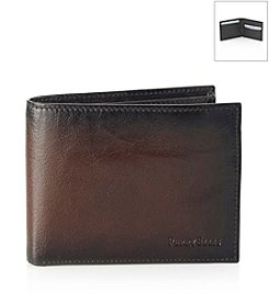 Perry Ellis Portfolio® Men's Brown Michigan Slim Bifold Wallet