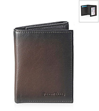 Perry Ellis Portfolio® Men's Brown Michigan Slim Trifold Wallet