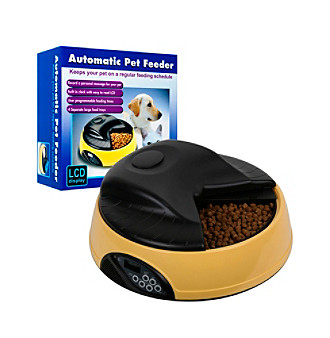 PAW™ 4 Meal Automatic LCD Pet Feeder with Voice Recorder