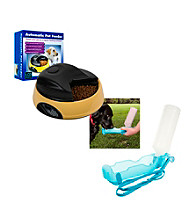 PAW™ 4 Meal Automatic Pet Feeder & Portable Water Dish