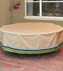 Sure Fit® Patio Armor Royal Deluxe Round Table and Chair Set Cover