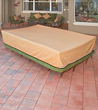 Sure Fit® Patio Armor Royal Deluxe Rectangle Table and Chair Set Cover