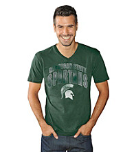 G-III Men's Michigan State Xavier Pigment-Dyed Tee