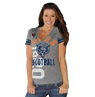 G-III Women's Chicago Bears Big Play Tee