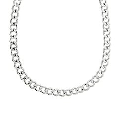 Stainless Steel Chunky Chain Necklace