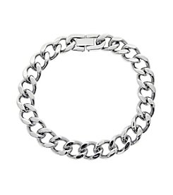 Stainless Steel Chunky Chain Bracelet