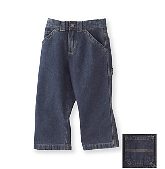 Ruff Hewn Boys' 2T-7 Carpenter Jeans - Dark Indigo