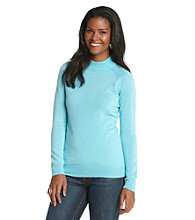 Studio Works® Petites' Mockneck Sweater