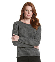 Vertical Design® Polka Dot Pullover