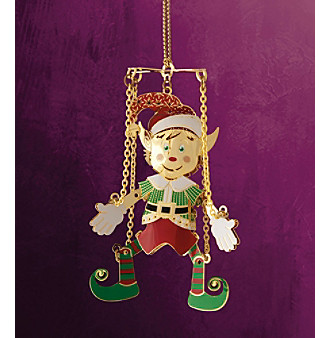 ChemArt Toy Chest Collection Marionette Ornament