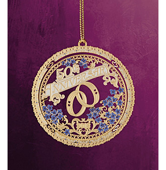 "ChemArt ""50th Anniversary 2012"" Ornament"