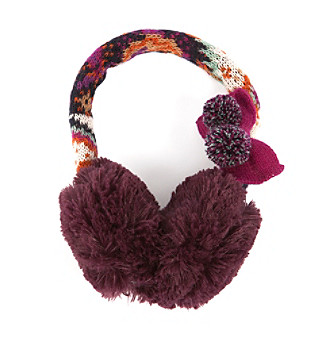 MUK LUKS® Boho Faur Fur Earmuffs - Purple Multi