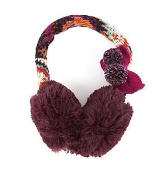 MUK LUKS® Boho Faur Fur Earmuffs - Purple Multi