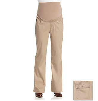 Three Seasons Maternity™ Fine Corduroy Pants plus size,  plus size fashion plus size appare