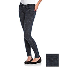 Levi's® Juniors' 535 Bleach Splatter-Print Jean Leggings