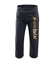 Soffe® Black West Virginia University Yoga Pants