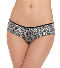 B intimates Microfiber Cheeky Hipster - Grey Animal