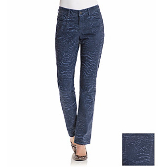 Not Your Daughter's Jeans®Nature Collage Printed Skinny Jeans