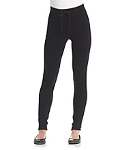 Calvin Klein Performance Drawstring Ponte Legging with Pockets