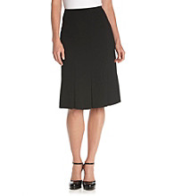 Kasper® Plus Size Basic Paneled Skirt