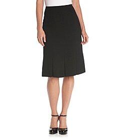 Kasper® Plus Size Basic Paneled Skirt