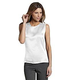 Kasper® Plus Size Sleeveless Blouse