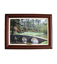 CGI Sports Memories Augusta 12th Hole Framed Print