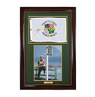 CGI Sports Memories Jack Nicklaus Signed 2000 US Open Framed Print