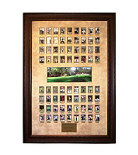 CGI Sports Memories Master Champs 1934-2008 Framed Print